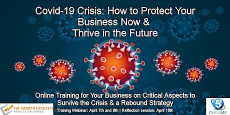 Covid-19 Crisis: How to Protect Your Business NOW & Thrive in the Future tickets
