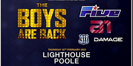 The boys are back! 5ive/A1/Damage/911 (Lighthouse, Poole)  tickets
