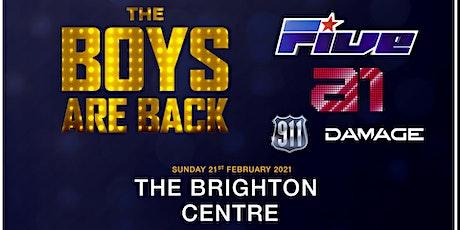 The Boys Are Back (Brighton Centre, Brighton) tickets