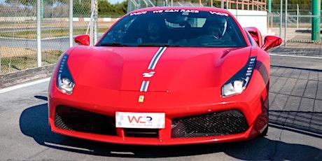 Guida una Ferrari o una Lamborghini all'Autodromo di Vallelunga a Roma biglietti