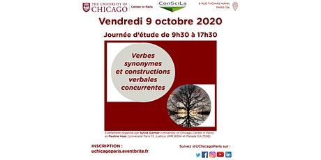 Verbes synonymes et constructions verbales concurrentes tickets