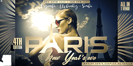 PARIS KIZOMBA NEW YEARS EVE 4 biglietti