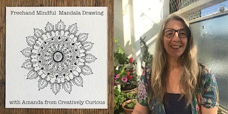 Mindful Online Mandala Drawing Workshop tickets