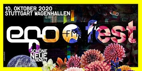 egoFM fest Stuttgart 2020 Tickets
