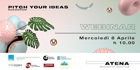Roadshow Atena Startup Battle | Webinar Edition biglietti