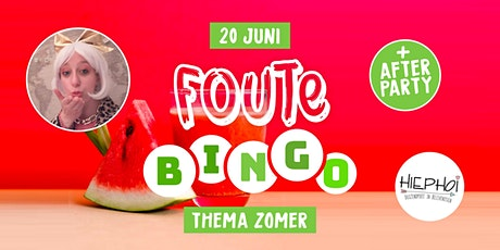 Foute Zomer Bingo | City Theater tickets
