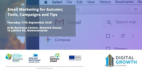 Email Marketing for Autumn; Tools, Campaigns and Tips tickets