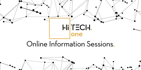 HiTech One: Online Information Session tickets