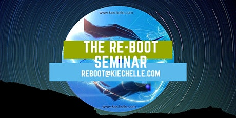The KiE RE-BOOT Seminar online Taster for FREE tickets
