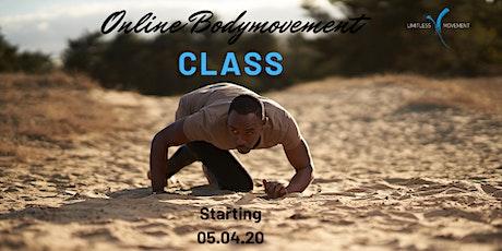 Online Bodymovement Class tickets