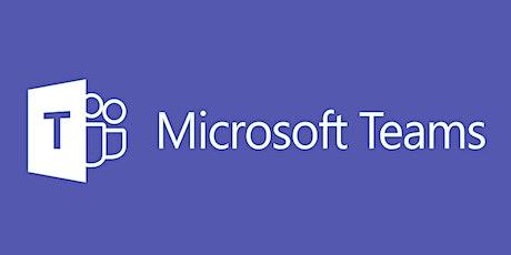 Formation en ligne sur Microsoft Teams billets