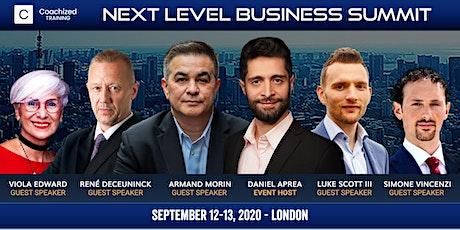 [Free Tickets] Next Level Business Summit tickets