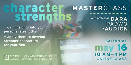 Character Strengths for Creatives Masterclass tickets