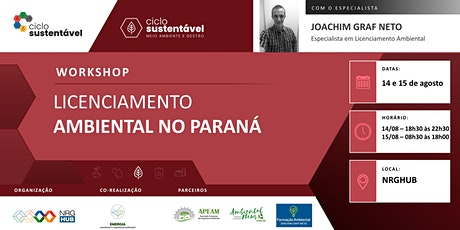 Workshop - Licenciamento Ambiental no Paraná ingressos