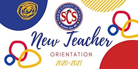 New Teacher Orientation 2020-2021 tickets