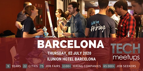 Barcelona Tech Job Fair Spring 2020 By Techmeetups tickets