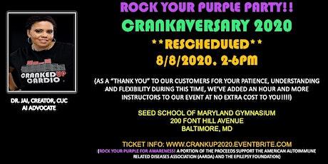 CRANKAVERSARY 2020: CRANK CRASH TIX SALE! biglietti