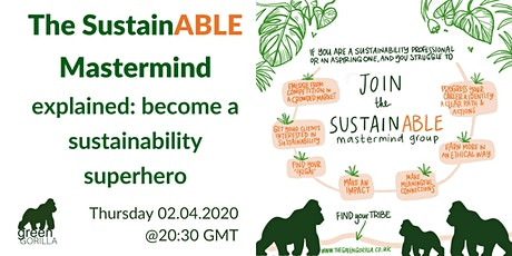 The SustainABLE Mastermind explained: become a sustainability superhero tickets