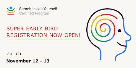 Search Inside Yourself (SIY) Certified Program Zürich tickets