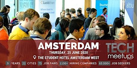 Amsterdam Tech Job Fair Spring 2020 by Techmeetups tickets