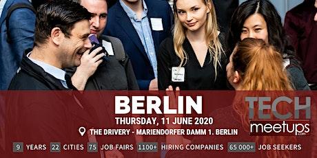 Berlin Tech Job Fair Summer 2020 By Techmeetups Tickets
