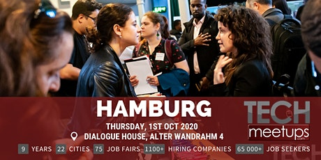 Hamburg Tech Job Fair 2020 by Techmeetups billets