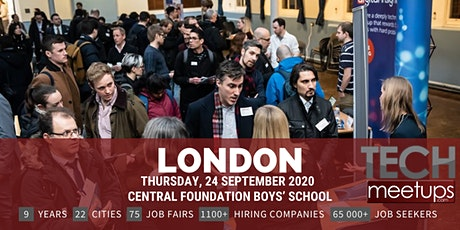 London Tech Job Fair Autumn 2020 by Techmeetups tickets
