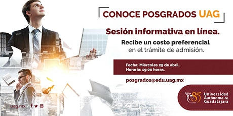 Sesión Informativa en linea entradas