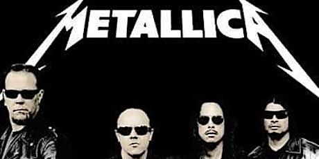 Excursão Metallica - Saídas do Rio de Janeiro e São José dos Campos ingressos