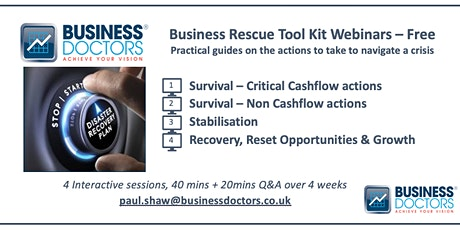 Business Rescue Toolkit tickets