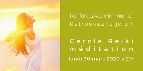Cercle Reiki et méditation en visio-conférence billets