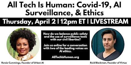 All Tech Is Human: Covid-19, AI Surveillance, & Ethics tickets