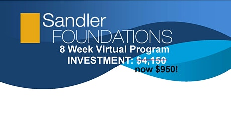 Virtual Sandler Foundations Program tickets