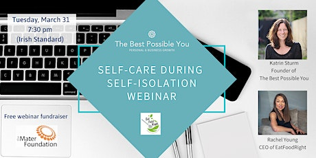 Self-Care During Self-Isolation tickets