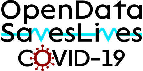 #OpenDataSavesLives & COVID-19 - Meeting Tickets