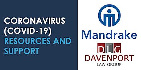 Covid19-HR Strategies. Featuring Employment Lawyer Ken Alexander tickets