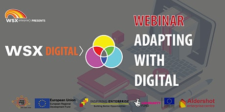 Adapting With Digital Webinar Series tickets