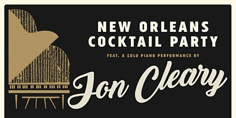 New Orleans Cocktail Party at Dawes House w/ a performance by Jon Cleary (Rescheduled from April 4) @ Out of Space: Evanston History Center - Dawes House tickets