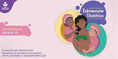 I Jornada de Enfermagem Obstétrica do Hospital Maternidade de Campinas ingressos