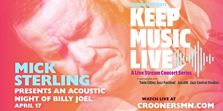 Mick Sterling Presents an Acoustic Night of Billy Joel tickets