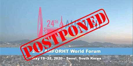 24th AMFORHT World Forum tickets