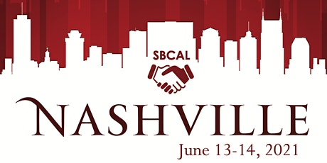 SBCAL 2021 - Nashville, TN tickets