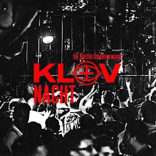 KLUV NACHT by Berlin Underground Global logo