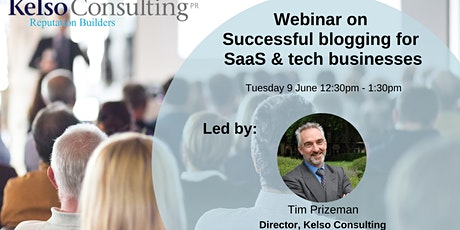 Successful blogging for tech firms - June 2020 tickets