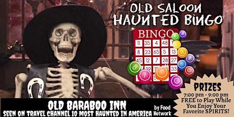 "Return of Haunted BINGO!! at Old Baraboo Inn  ""Bender Brewery""  SPOOKY FUN! tickets"