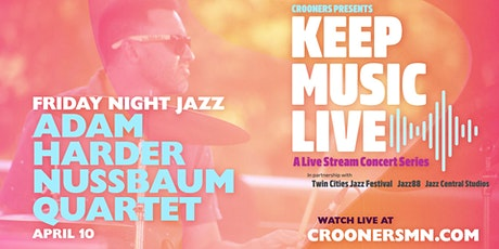 Friday Night Jazz with Adam Harder Nussbaum Quartet tickets