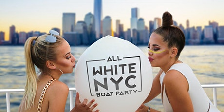 All White Latin Sunset Boat Party - Midtown Yacht Cruise NYC Skyline tickets