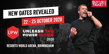 Tony Robbins Unleash the Power Within - UPW Birmingham 2020 tickets