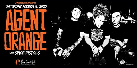 Agent Orange, Spice Pistols at Cargo Concert Hall tickets