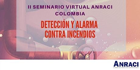 II Seminario Virtual ANRACI COLOMBIA entradas
